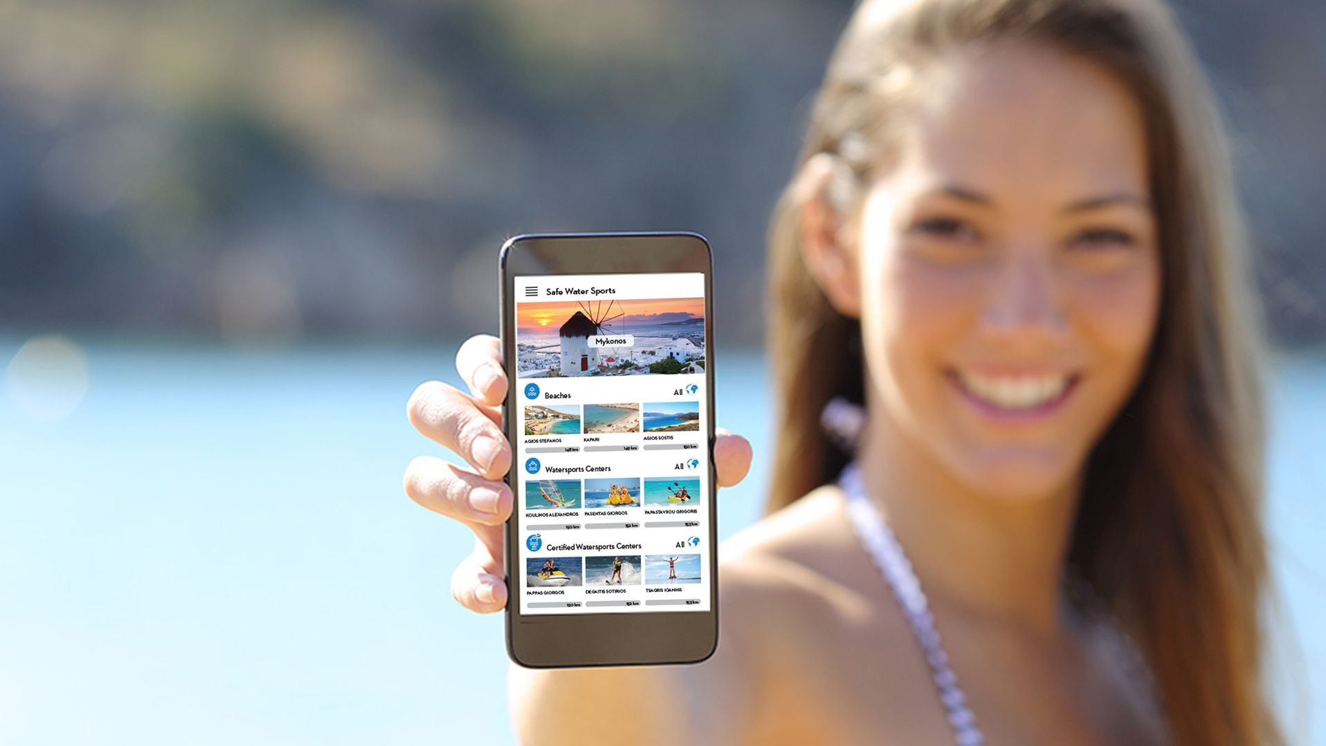 An app for maritime tourism in Greece and Cyprus
